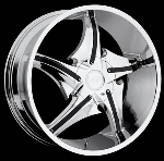 This wheel is fabulous, made for almost any make and model vehicle. The 5 spokes wheel adds a lot of style to the look of your vehicle. When you ride the street you will turn heads with this wheel.