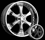 This wheel is fabulous, made for almost any make and model vehicle. The 6 spokes wheel adds a lot of style to the look of your vehicle. When you ride the street you will turn heads with this wheel.