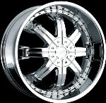 This wheel is fabulous, made for almost any make and model vehicle. The 8 spoke wheel adds a lot of style to the look of your vehicle. When you ride the street you will turn heads with this wheel.