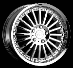 This wheel is fabulous, made for almost any make and model vehicle. The 20 spokes wheel adds a lot of style to the look of your vehicle. When you ride the street you will turn heads with this wheel.