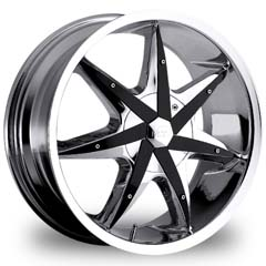 "This is the  genuine ""VCT GRANGSTER"" rim, it has a CHROME/W BLACK finish , a very outstanding rim, has a good smooth look to it, and a very righteous ride to it, Has mid lip for those looking for a rim with a lil lip but enough lip and enough rim. Very dependable rim, does not rust or mold at all like all those other flimsy rims. One of the best wheels you can have under your vehicle, to make it look beautiful and also has the one of a kind look to it."