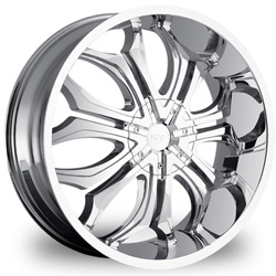 "This is the  genuine ""VCT GODFATHER"" rim, it has a CHROME finish , a very outstanding rim, has a good smooth look to it, and a very righteous ride to it, Has mid lip for those looking for a rim with a lil lip but enough lip and enough rim. Very dependable rim, does not rust or mold at all like all those other flimsy rims. One of the best wheels you can have under your vehicle, to make it look beautiful and also has the one of a kind look to it."