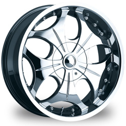 "This is the  genuine ""VCT LUCIANO"" rim, it has a CHROME finish , a very outstanding rim, has a good smooth look to it, and a very righteous ride to it, Has mid lip for those looking for a rim with a lil lip but enough lip and enough rim. Very dependable rim, does not rust or mold at all like all those other flimsy rims. One of the best wheels you can have under your vehicle, to make it look beautiful and also has the one of a kind look to it."