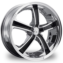 "This is the  unique ""VCT MASSINO"" rim, it has a CHROME/W BLACK finish , a very outstanding rim, has a good smooth look to it, and a very righteous ride to it, Has mid lip for those looking for a rim with a lil lip but enough lip and enough rim. Very dependable rim, does not rust or mold at all like all those other flimsy rims. One of the best wheels you can have under your vehicle, to make it look beautiful and also has the one of a kind look to it."