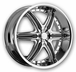 "This is the  genuine ""VCT MOBSTER"" rim, it has a CHROME/W BLACK finish , a very outstanding rim, has a good smooth look to it, and a very righteous ride to it, Has mid lip for those looking for a rim with a lil lip but enough lip and enough rim. Very dependable rim, does not rust or mold at all like all those other flimsy rims. One of the best wheels you can have under your vehicle, to make it look beautiful and also has the one of a kind look to it."