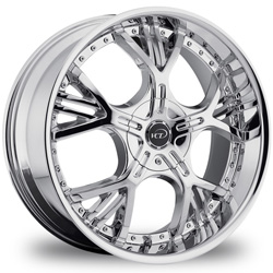 "This is the a mind blowing ""VCT VEZZARO"" rim, it has a CHROME finish , a very outstanding rim, has a good smooth look to it, and a very righteous ride to it, Has mid lip for those looking for a rim with a lil lip but enough lip and enough rim. Very dependable rim, does not rust or mold at all like all those other flimsy rims. One of the best wheels you can have under your vehicle, to make it look beautiful and also has the CONFIDENT look to it."