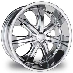 "This is the fancy ""VELOCITY 725"" rim, it has a CHROME finish , a very outstanding rim, has a good smooth look to it, and a very righteous ride to it, Has mid lip for those looking for a rim with a lil lip but enough lip and enough rim. Very dependable rim, does not rust or mold at all like all those other flimsy rims. One of the best wheels you can have under your vehicle, to make it look beautiful and also has that confident to it."