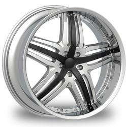 "This is the  genuine ""VELOCITY 810"" rim, it has a CHROME/W BLACK finish , a very outstanding rim, has a good smooth look to it, and a very righteous ride to it, Has mid lip for those looking for a rim with a lil lip but enough lip and enough rim. Very dependable rim, does not rust or mold at all like all those other flimsy rims. One of the best wheels you can have under your vehicle, to make it look beautiful and also has the one of a kind look to it"
