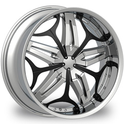 "This is the  genuine ""VELOCITY 815"" rim, it has a CHROME/W BLACK finish , a very outstanding rim, has a good smooth look to it, and a very righteous ride to it, Has mid lip for those looking for a rim with a lil lip but enough lip and enough rim. Very dependable rim, does not rust or mold at all like all those other flimsy rims. One of the best wheels you can have under your vehicle, to make it look beautiful and also has the one of a kind look to it."