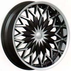 "This is the  genuine ""VELOCITY 835"" rim, it has a BLACK/W CHROME finish , a very outstanding rim, has a good smooth look to it, and a very righteous ride to it, Has mid lip for those looking for a rim with a lil lip but enough lip and enough rim. Very dependable rim, does not rust or mold at all like all those other flimsy rims. One of the best wheels you can have under your vehicle, to make it look beautiful and also has the one of a kind look to it."