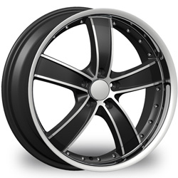 "This is the  genuine ""VELOCITY 810"" rim, it has a BLACK/W CHROME finish , a very outstanding rim, has a good smooth look to it, and a very righteous ride to it, Has mid lip for those looking for a rim with a lil lip but enough lip and enough rim. Very dependable rim, does not rust or mold at all like all those other flimsy rims. One of the best wheels you can have under your vehicle, to make it look beautiful and also has the one of a kind look to it."