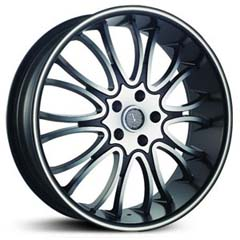"This is the  genuine ""VELOCITY 920"" rim, it has a BLACK/W CHROME finish , a very outstanding rim, has a good smooth look to it, and a very righteous ride to it, Has mid lip for those looking for a rim with a lil lip but enough lip and enough rim. Very dependable rim, does not rust or mold at all like all those other flimsy rims. One of the best wheels you can have under your vehicle, to make it look beautiful and also has the one of a kind look to it."